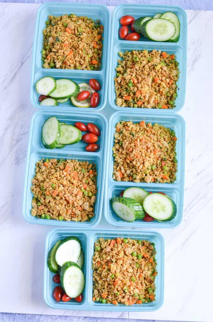 breakfast scramble meal planning for 5 days
